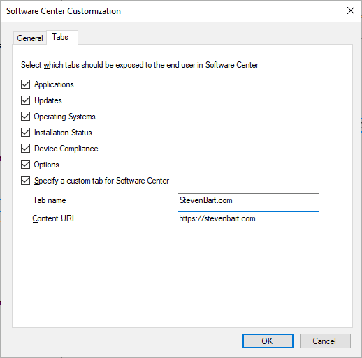 Customize the Software Center - stevenbart com