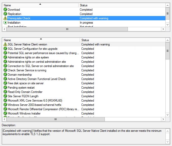 SCCM 1810 - Version Issue with SQL Server Native Client - stevenbart com