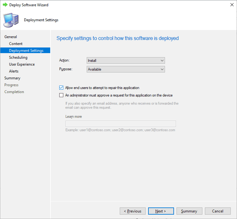 Repairing Applications (MSI) from Software Center - SCCM