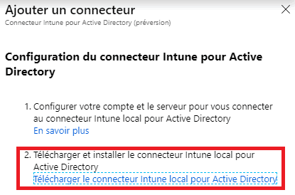 Download Intune Connector