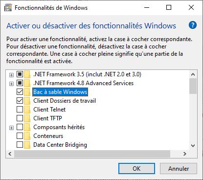 Sandbox Mode in Windows 10 - stevenbart com